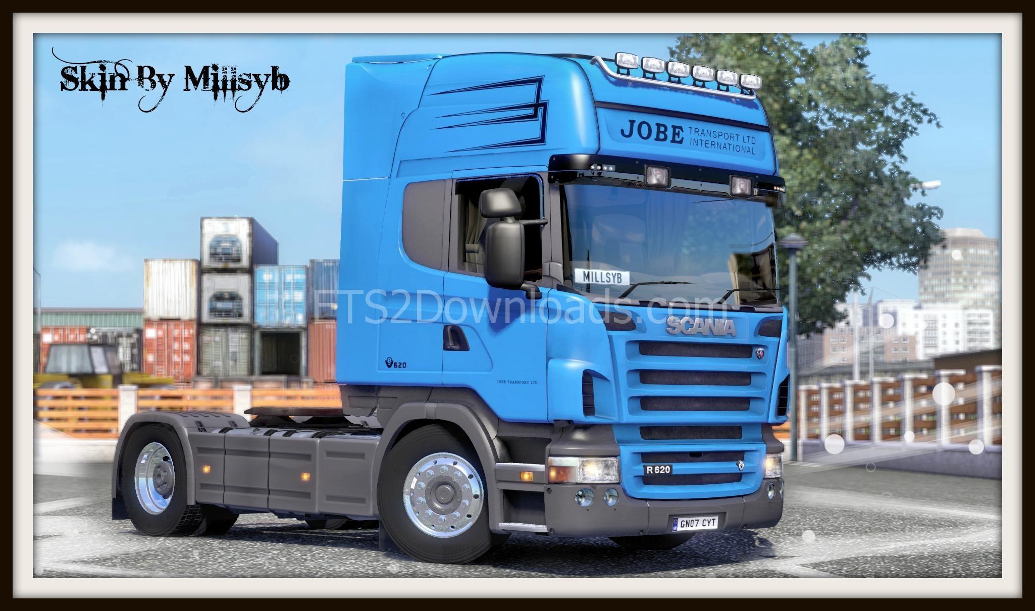 jobe-transport-ltd-skin-for-scania-ets2
