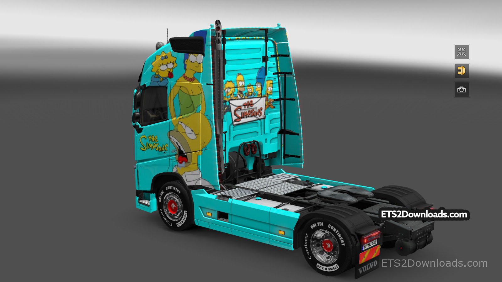 the-simpsons-skin-for-volvo-fh-2013-1
