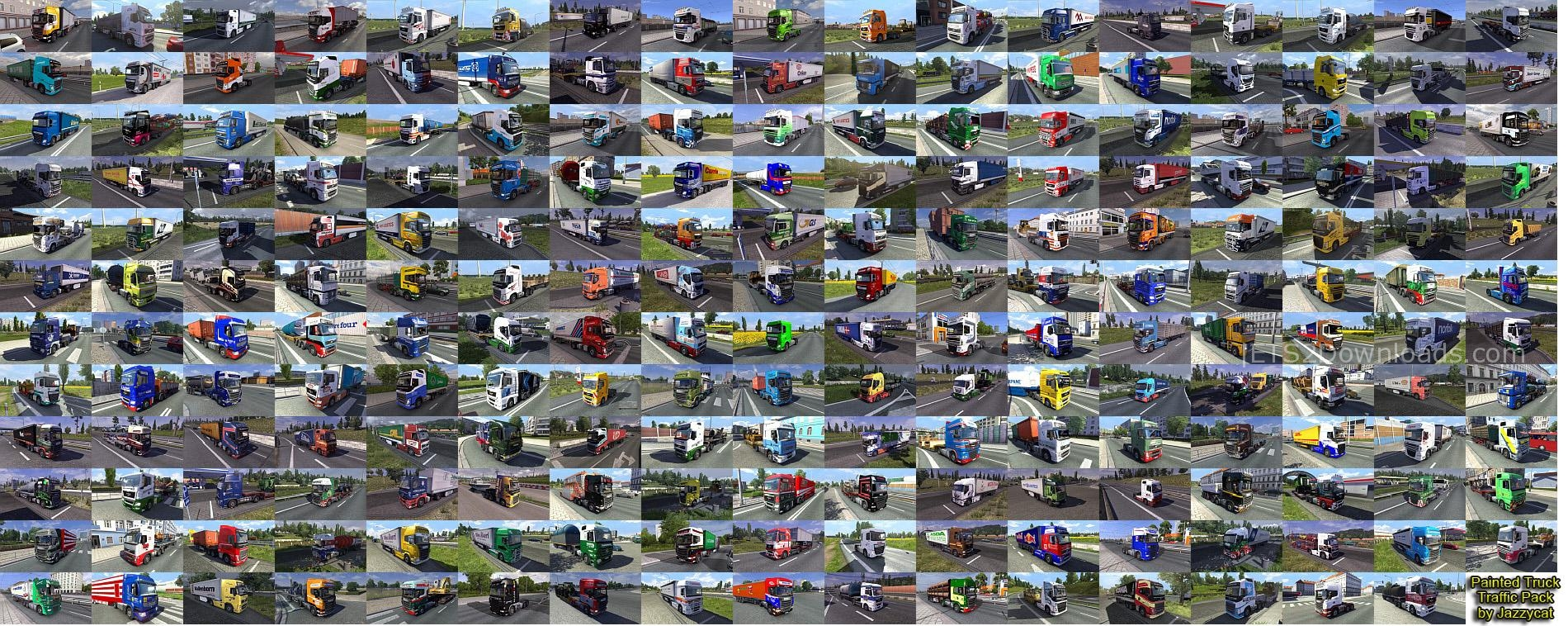 painted-truck-traffic-pack-by-jazzycat