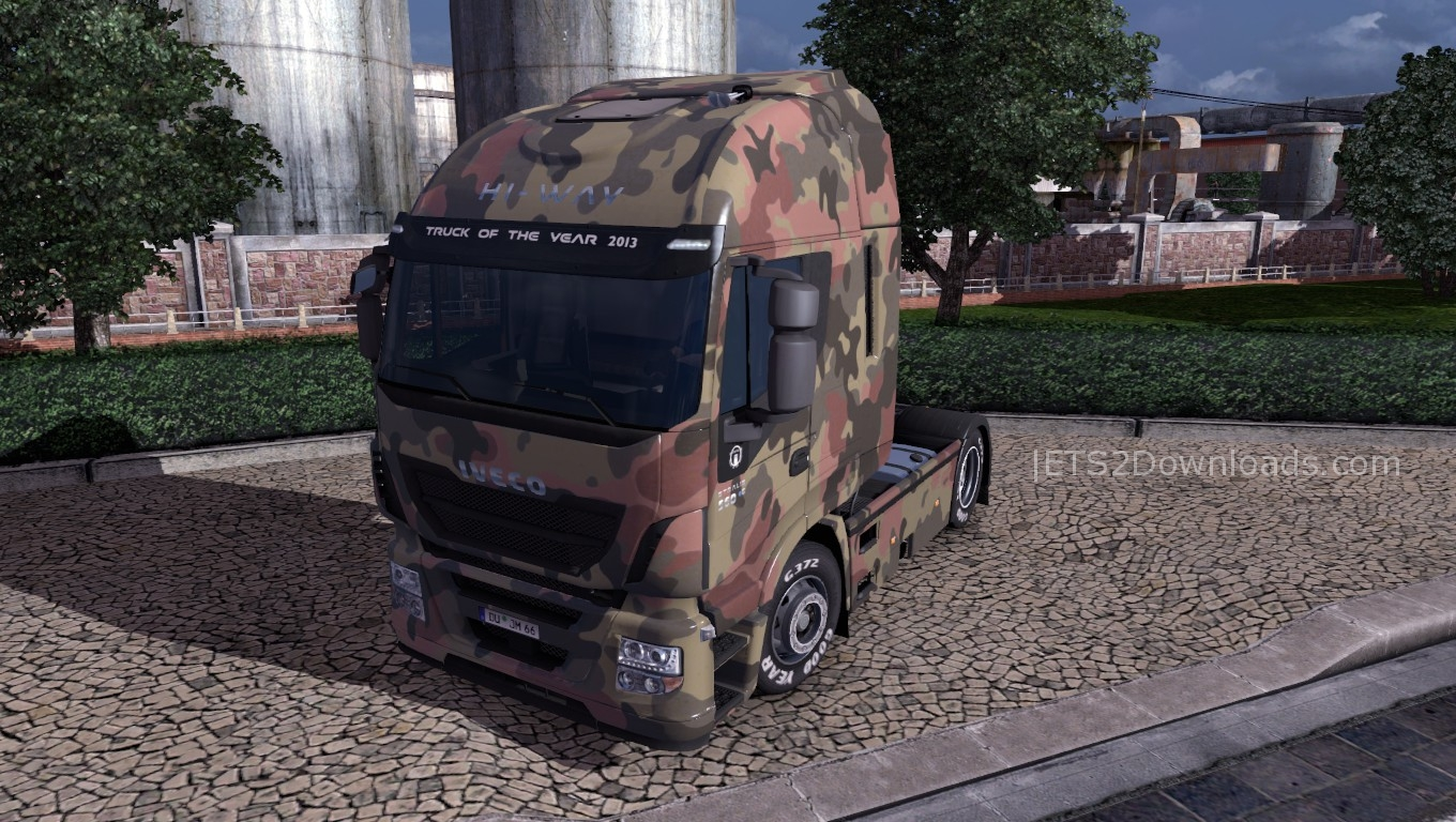 army-skin-for-iveco-hi-way