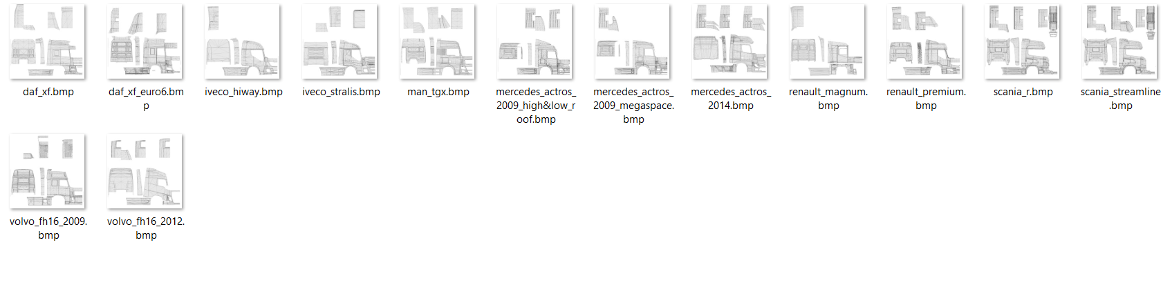 3rd-uvmap-template-for-all-trucks